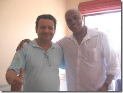 eu e Pierre Onasis