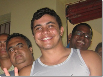 Comemoração da vitória de Marcelo Borges. 003