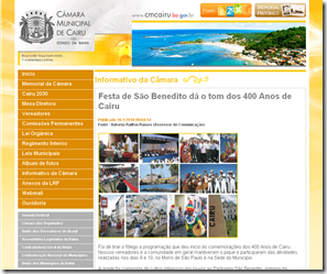 Câmara Municipal de Cairu - Bahia_1263691985296