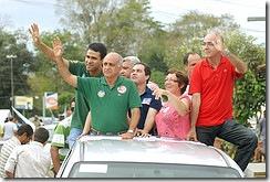 O candidato Paulo Souto em visita a cidade de Camacam - 26/09 Foto - Valter Pontes/Coperphoto