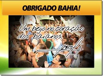 obrigado Bahia