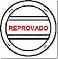 CARIMBO REPROVADO