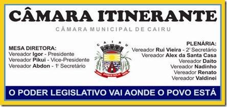 Câmara Itinerante Logo 1