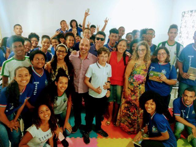 Professor Francisco Neto Leva Palestra Motivacional Para